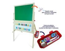 Quadro Lousa Infantil Magnetico Educativo Carimbras -