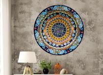 Quadro Mandala Decorativa Redonda  - MDF -