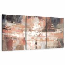 Quadro Moderno Abstrato Para Sala Escritórios Mosaico Canvas - Framez