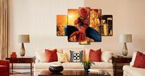 Quadro Mosaico 5 Partes Homem Aranha Marvel Ref 5032 - Estampas show