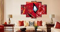 Quadro Mosaico 5 Partes Homem Aranha Marvel Ref5033 - Estampas show