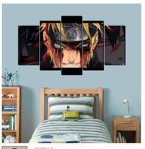 Quadro mosaico 5 peças uzumaki abstrato moderno painel para decoração de ambientes - Neyrad