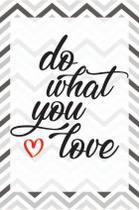 Quadro Placa Decorativa - Do What You Love - Maison de lele