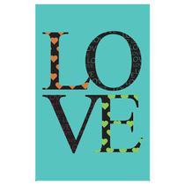 Quadro Placa Decorativa - Love - Maison de lele