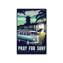 Quadro Placa Decorativa - Surf - Maison de lele