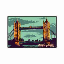 Quadro Placa Decorativa - Tower Bridge - Maison de lele