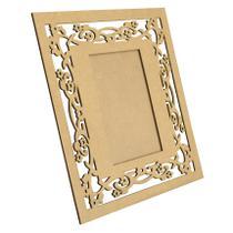 Quadro Porta Retrato Florido 26x24 Laser Mdf Madeira - Atacadão do artesanato mdf