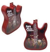 Quadro porta rolha / tampinha de plastico modelo guitarra veneza colors 37,5x30cm - Nova Alianca
