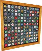 Quadro Porta Tampinhas cerveja coleção linha master 144 furos presente - Co2Beer -