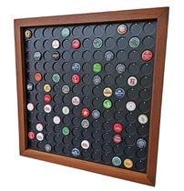 Quadro Porta Tampinhas cerveja coleção linha Premium 144 furos presente - Co2Beer -