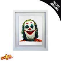 Quadro Premium Coringa Rindo - Joker - Joaquin Phoenix - Dc Comics