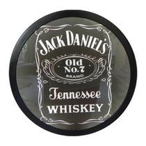 Quadro redondo Jack Daniels luminoso - Tecnolaser