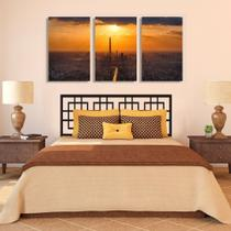 Quadro tarde  60x120cm Decorativo Interiores Ref 148 - Finy art