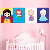 Quadros Decor Princesas Disney - Branca de Neve Frozen - Quadros mais