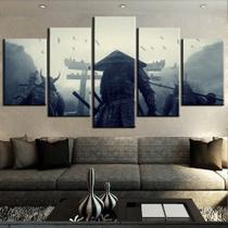 quadros decorativos 5 peças samurai obrazy plakat - KyMe