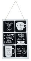 Quadros Decorativos Café Coffee Cozinha Placa Ferro 20x30cm - IMPORIENTE