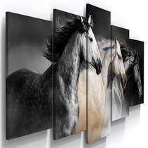 Quadros Decorativos Cavalos Fazenda Sala QU - Loja Wall Frame