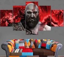 Quadros Decorativos Jogo God Of War Kratos - Mr Decorações / Paradecoração