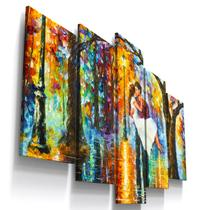 Quadros Decorativos Romantico Abstrato Sala Quarto - Loja Wall Frame