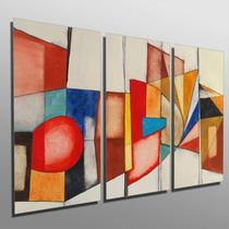 Quadros Decorativos Sala Quarto Abstrato - Conspecto
