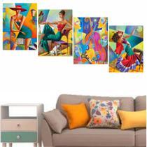 Quadros Desenhos Abstratos Para Decorar Sua Casa - Quadros mais