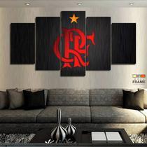 Quadros Flamengo 63x130mt em Tecido - Wall Frame