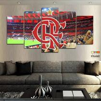 Quadros Flamengo Edição Especial 63x130mt em Tecido - Wall frame