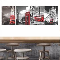 Quadros Londres Para Decoração Interiores - Quadros mais