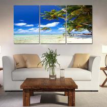 Quadros mosaico paisagens med. 105x65 ps 2mm adesivo fosco borda infinita - Atitude Signs