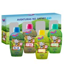 Quarteto Colônias Delikad Kids Safari 100 ml (4 unidades) -