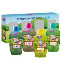 Quarteto Colônias Delikad Kids Safari 60ml (4 unidades) -
