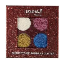 Quarteto de Sombras Glitter Ludurana M000117 -