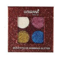 Quarteto De Sombras Ludurana Glitter - 4g -