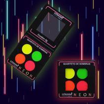 Quarteto de sombras neon 04n - ludurana -