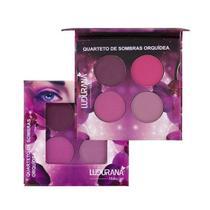 Quarteto De Sombras Orquídea Ludurana Make Up M00070 -