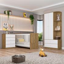 Quarto de bebê completo Alicante - Henn -