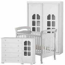 Quarto de Bebê Completo Amore New 2 Portas - Matic - Matic moveis