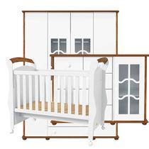 Quarto de Bebê Confort 4 Portas Teka Touch - Matic - Matic moveis