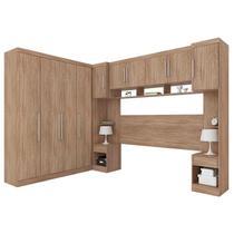 Quarto de Casal Modena Ambiente 1 Nogal Touch  Demóbile - Demobile