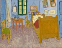 Quarto em Arles - Terceira Versão - Vincent van Gogh - 60x76 - Tela Canvas Para Quadro - Santhatela