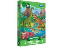 Quebra-cabeça 100 Peças Dinossauros - Reino dos Dinos Toyster