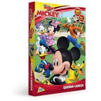 QUEBRA-CABECA 100 Peças Encapado Mickey JAK 2585 -