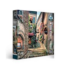 Quebra Cabeça 1000 Peças Cartonado Vielas Francesas - Toyster -
