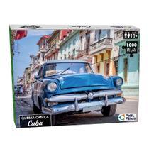 Quebra-Cabeça 1000 peças Cuba - Pais e Filhos - Pais & Filhos