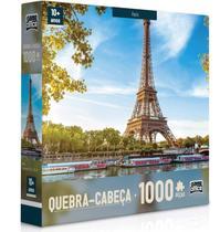 Quebra-Cabeça 1000 Peças Europeu Paris ou Roma - Toyster -
