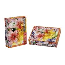 Quebra - Cabeça 1000 Peças - Flowers - Grow -