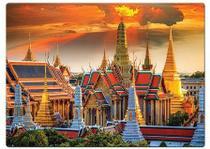 Quebra-Cabeça 1000 Peças Grande Palácio De Bangkok - Toyster -