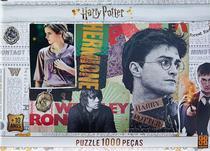 Quebra-Cabeça - 1000 peças - Harry Potter - Grow -