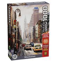 Quebra-Cabeça 1000 peças Manhattan - GROW -