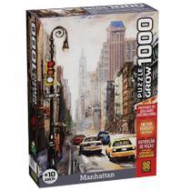 Quebra Cabeça 1000 peças Manhattan Grow -